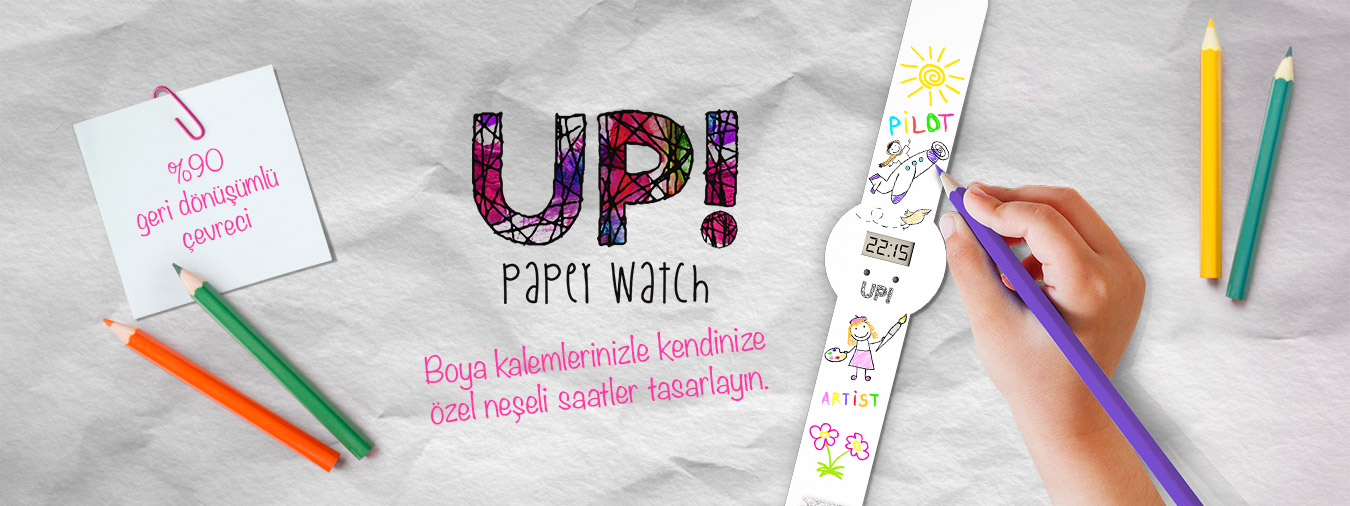 up watch paper