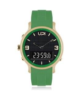 UPWATCH DOUBLE GOLD&GREEN