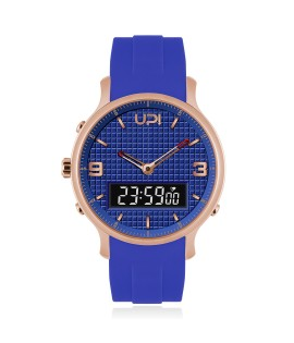 UPWATCH DOUBLE ROSE&BLUE