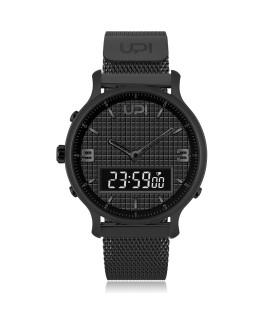 UPWATCH DOUBLE STEEL ALL BLACK