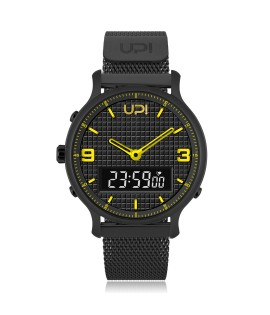 UPWATCH DOUBLE STEEL BLACK YELLOW