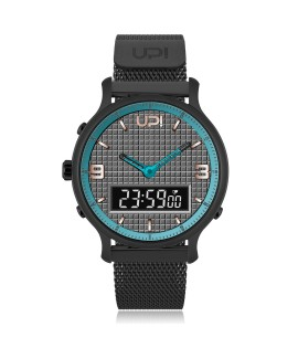 UPWATCH DOUBLE STEEL BLACK