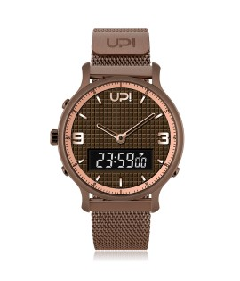UPWATCH DOUBLE STEEL CHOCOLATE - DB.02.04