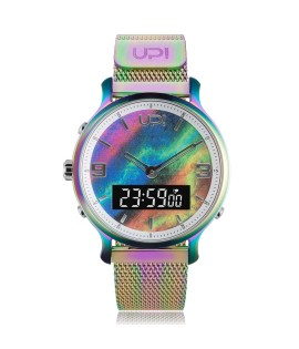 UPWATCH DOUBLE STEEL COLORFUL DB.02.06