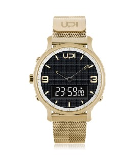 UPWATCH DOUBLE STEEL GOLD