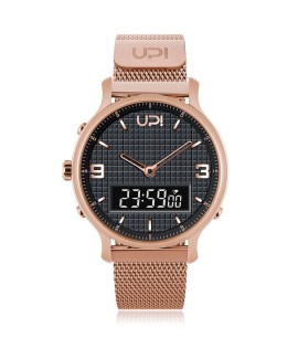 UPWATCH DOUBLE STEEL ROSE GREY - DB.02.01