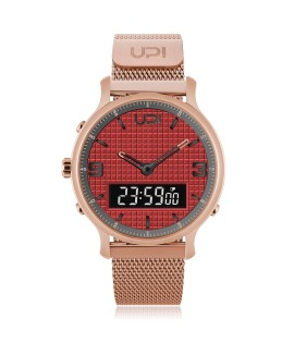 UPWATCH DOUBLE STEEL ROSE