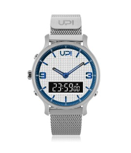 UPWATCH DOUBLE STEEL SILVER WHITE