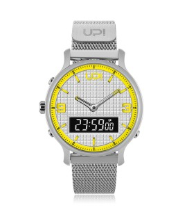 UPWATCH DOUBLE STEEL SILVER