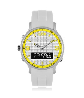 UPWATCH DOUBLE YELLOW&WHITE