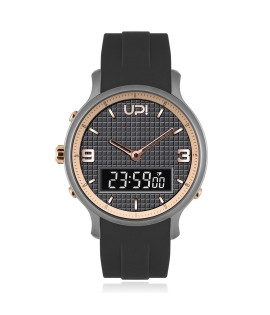 UPWATCH DOUBLE GUN ROSE&BLACK