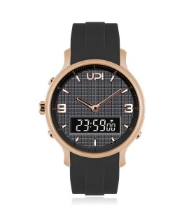 UPWATCH DOUBLE ROSE&BLACK
