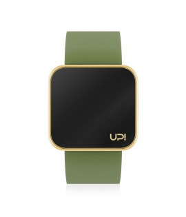 UPWATCH TOUCH SLIM SHINY GOLD & GREEN