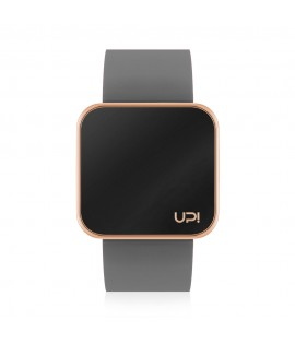UPWATCH TOUCH SLIM SHINY ROSE GOLD & GREY
